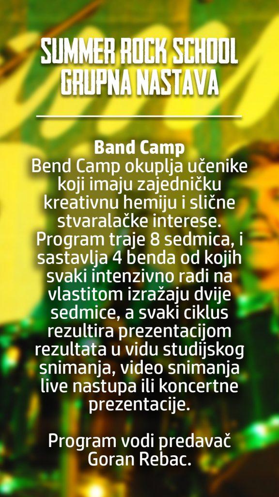 summer rock school band camp